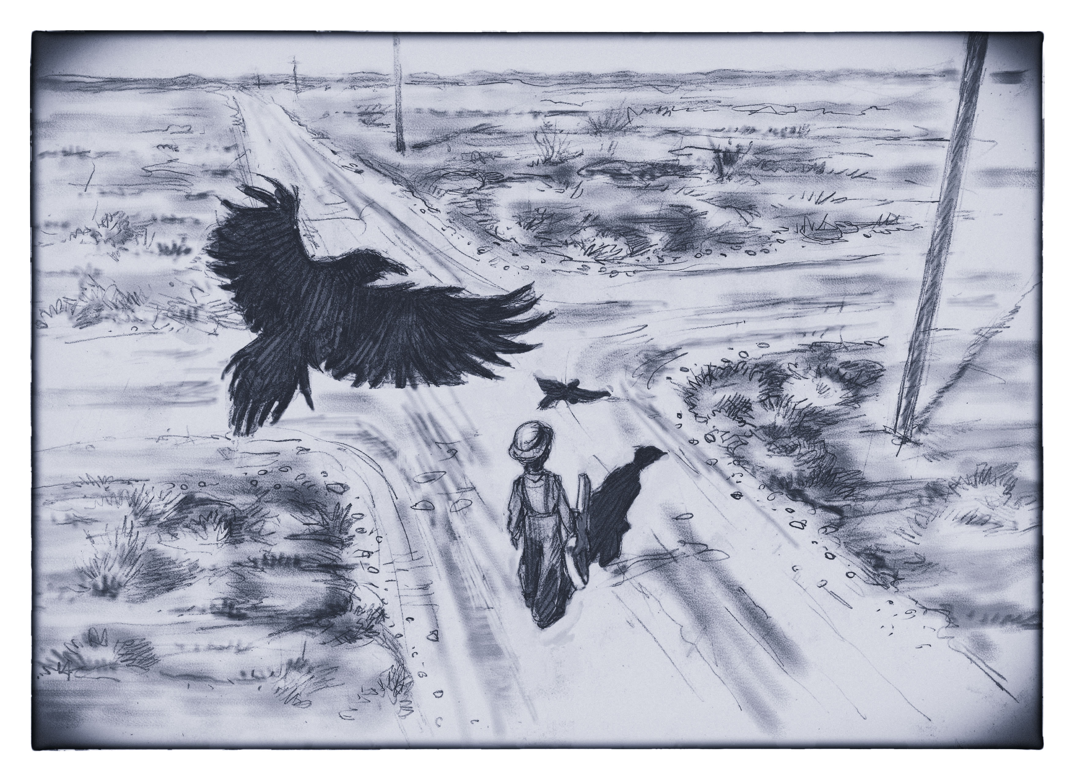 crossroad-crow