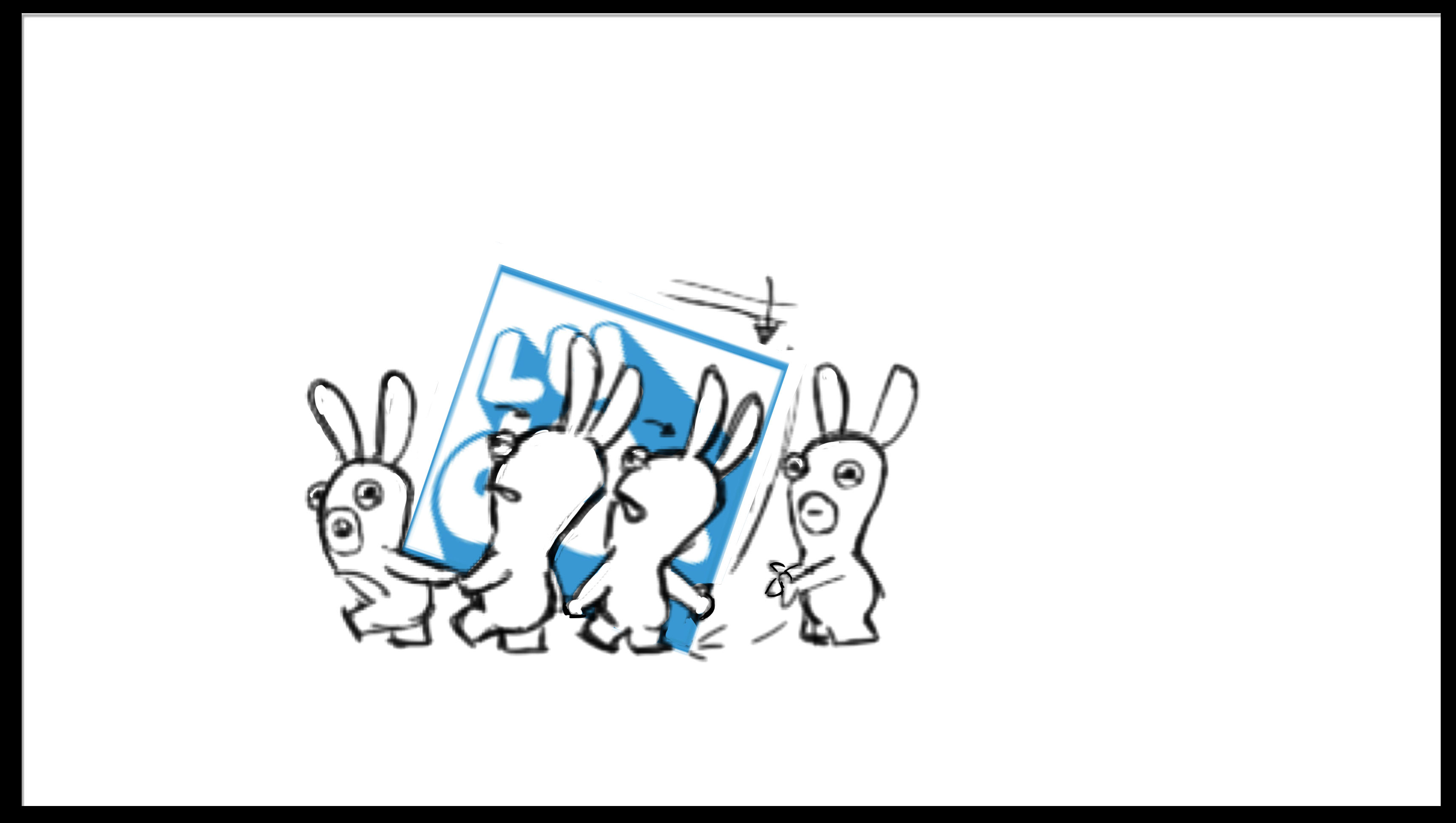 lapins cretins